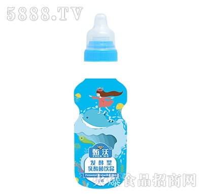 甄沃发酵型乳酸菌饮品原味(瓶)