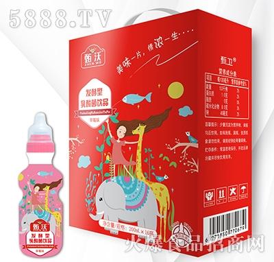甄沃发酵型乳酸菌饮品草莓味200mlx16
