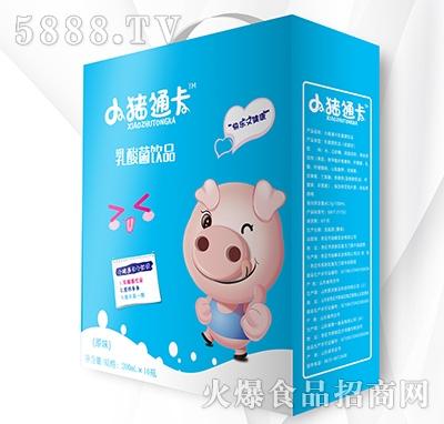 小猪通卡发酵型乳酸菌饮品200mlx16瓶
