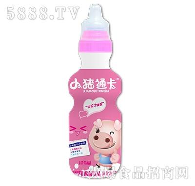小猪通卡发酵型乳酸菌饮品草莓味200ml