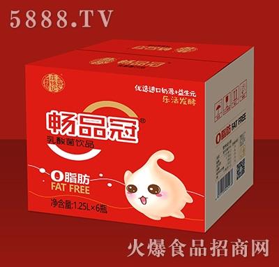 庄锦记畅品冠乳酸菌饮品1.25Lx6瓶