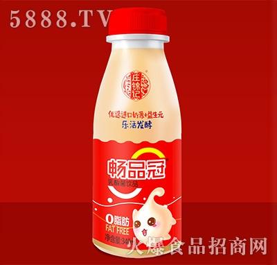 庄锦记畅品冠乳酸菌饮品340ml