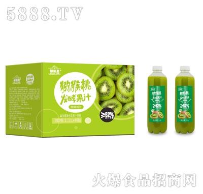 维他星猕猴桃发酵果汁1.1LX8