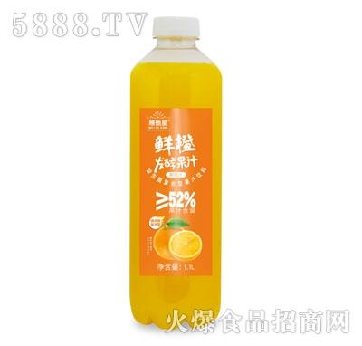 维他星鲜橙发酵果汁1.1L