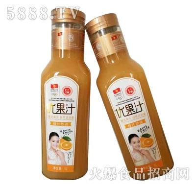 汇之果橙汁饮品1L
