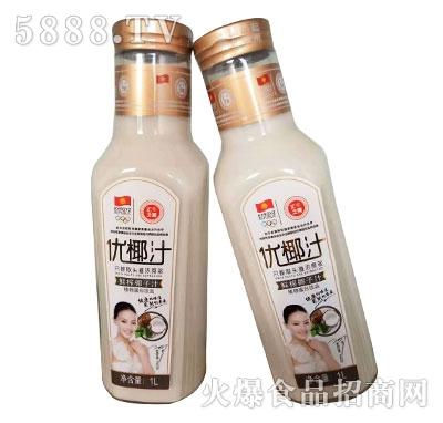 汇之果鲜榨椰子汁1L