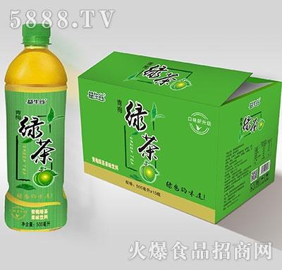 益生谷绿茶500mlx15