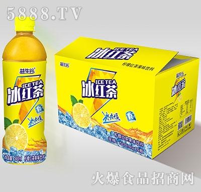 益生谷冰红茶500mlx15