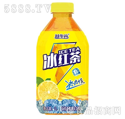 益生谷冰红茶1L