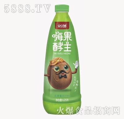 众口妙嗨果酵主奇异果果汁饮料1.25L