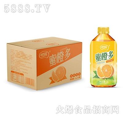 优乐冠蜜橙多风味饮料1L×10瓶