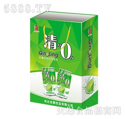 清0柠檬味苏打气泡水礼盒