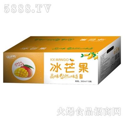 百多利冰芒果果蔬汁饮料(箱)