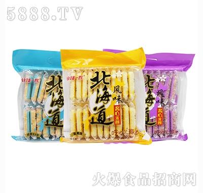 谷部一族北海道风味酱心米饼168克(三种口味)