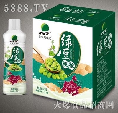 北大荒绿豆粗粮饮料1.25LX6
