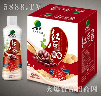 北大荒红豆粗粮饮料1.25LX6