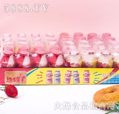 趣多星乳酸菌草莓味100ml盒装