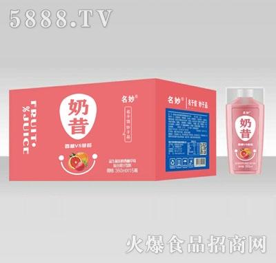 名妙益生菌发酵西柚草莓复合果汁饮料360mlX15