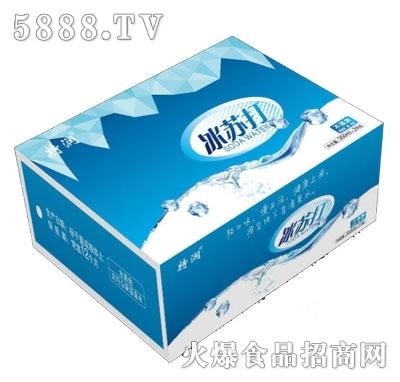 特润冰苏打苏打水350ml×24瓶