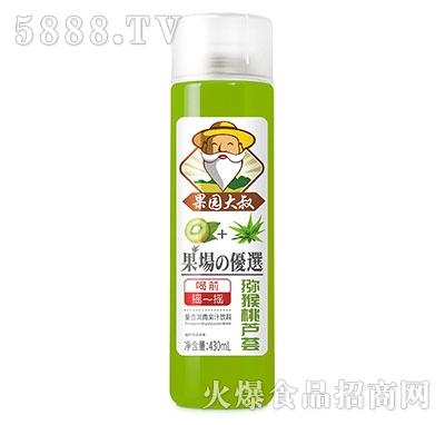 果园大叔猕猴桃芦荟果肉果汁430ml