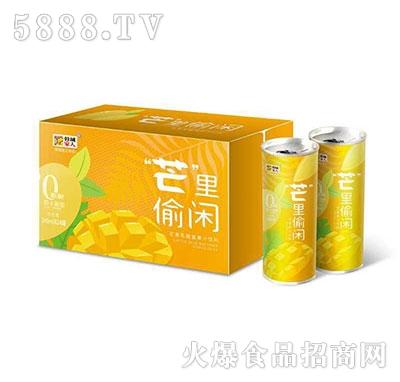 蓉城家人芒果乳酸菌果汁饮料240ml×24罐