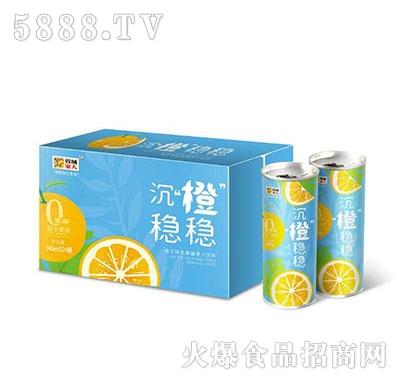 蓉城家人橙子味乳酸菌果汁饮料240ml×24罐