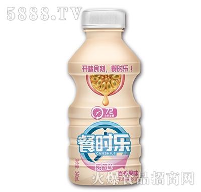 餐时乐百香果味乳酸菌饮品340ml