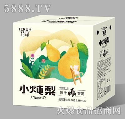 特润小炖梨梨果汁饮料1.3LX6
