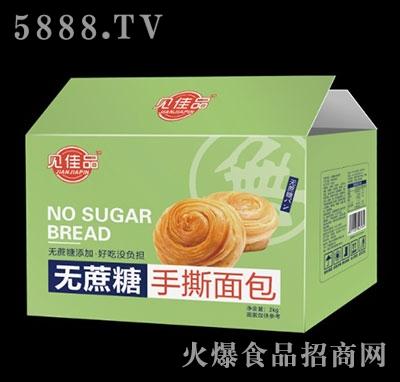 �佳品�o蔗糖手撕面包箱�b