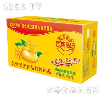昊旺部落芒果果汁饮料350mlX15