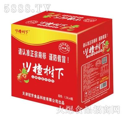 川楂树下山楂果汁饮料1.25LX6