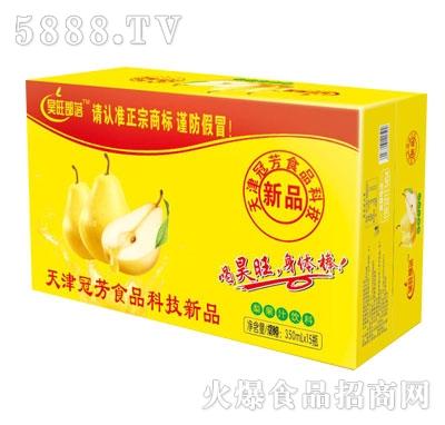 昊旺部落梨果汁饮料350mlX15
