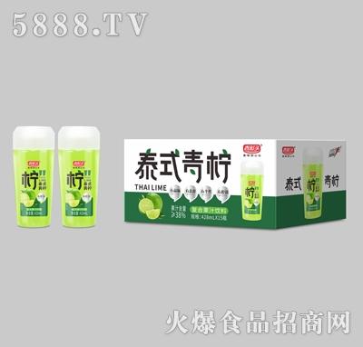 吉彩头泰式青柠复合果汁饮料428mlX15