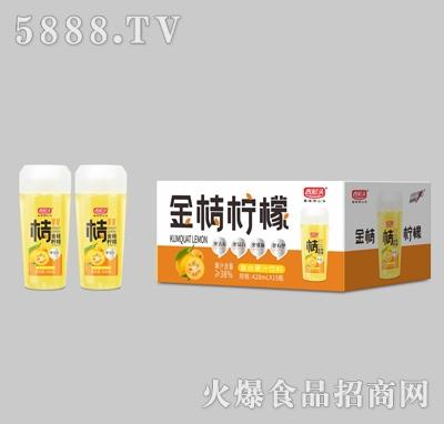 吉彩头金桔柠檬复合果汁饮料428mlX15