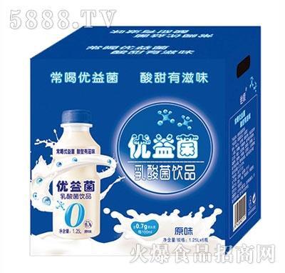 优益菌乳酸菌饮品1.25Lx6