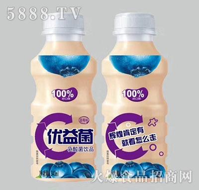 优益菌乳酸菌饮品蓝莓味340ml
