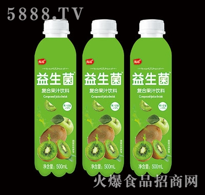 甄瑶猕猴桃益生菌复合果汁饮料500ml