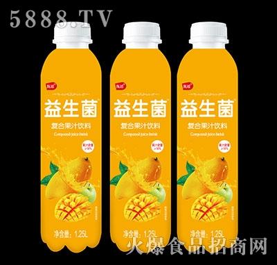 甄瑶芒果益生菌复合果汁饮料1.25L