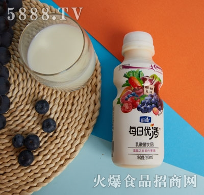 每日优活乳酸菌饮品330ml