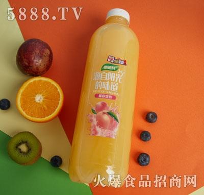 原道鲜白桃果汁饮品1.18L