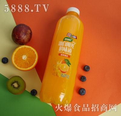 原道鲜甜橙果汁饮品1.18L