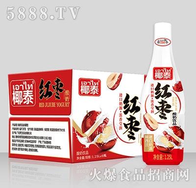 椰泰红枣酸奶饮品1.25Lx6