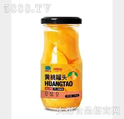 大寨黄桃罐头256g