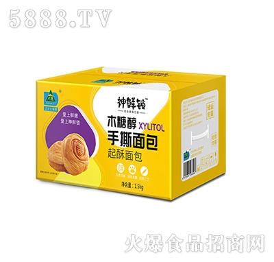 大寨木糖醇手撕面包1.5kg