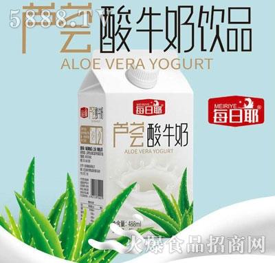 每日椰芦荟酸牛奶饮品(盒)