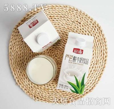 每日椰芦荟酸牛奶饮品488ml(盒)
