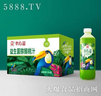 有心益益生菌发酵猕猴桃汁1.25LX8