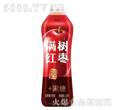 特润满树红枣红枣果汁饮料1.3L