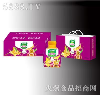 溢汁园百香果菠萝果味饮料礼盒