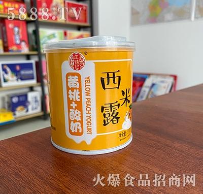庄锦记西米露黄桃+酸奶312g